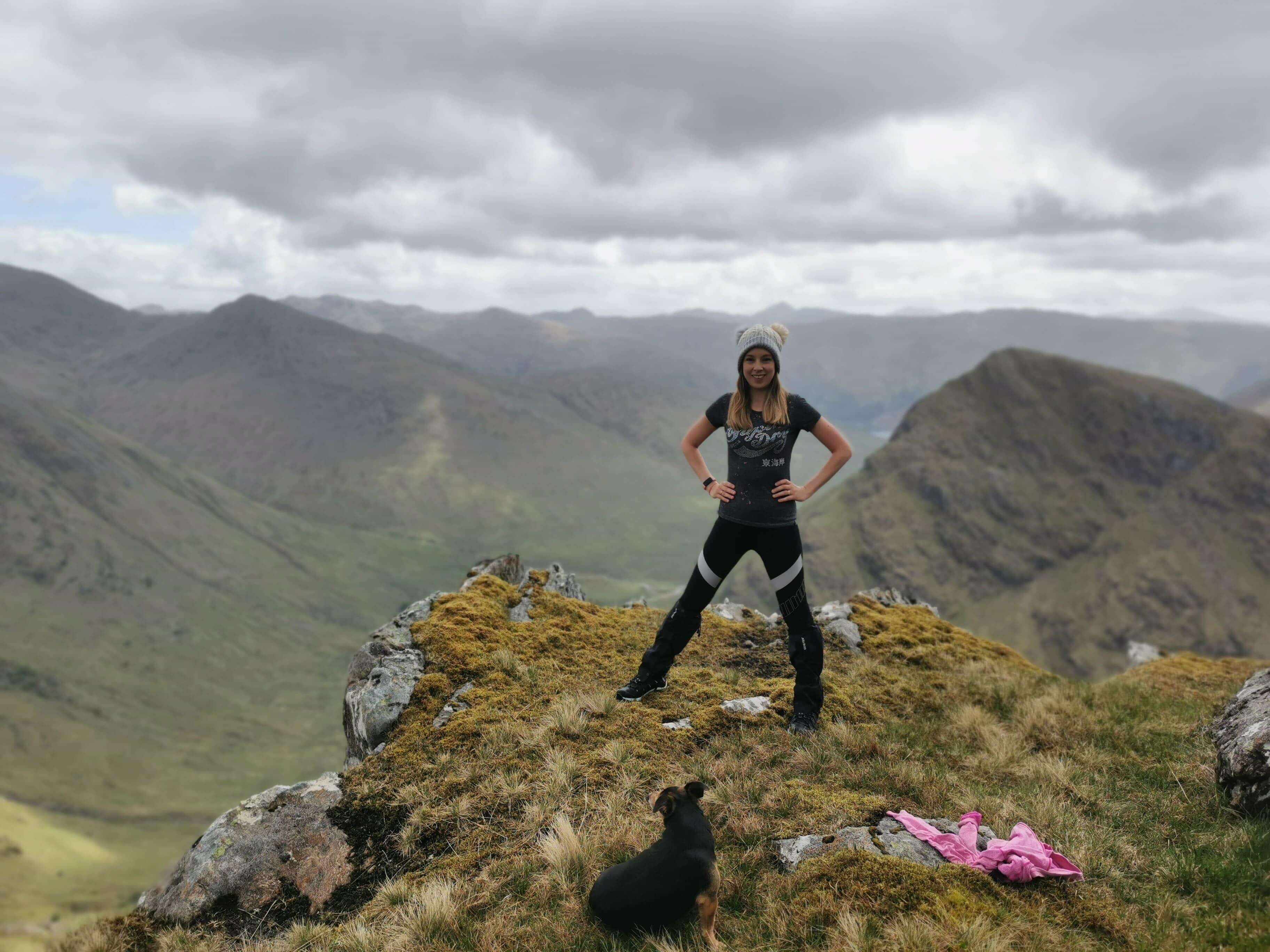 Emma Hill Walking From Glenfinnan Home To Mingarry